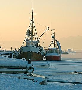 Vinter i Son havn