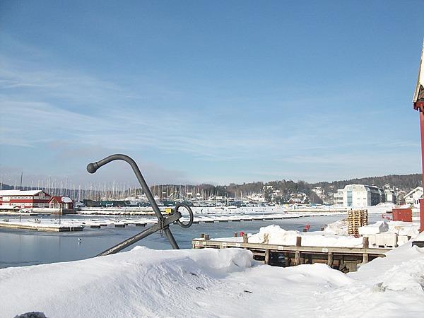 Vinter på Dampskipskaia i Son 2012