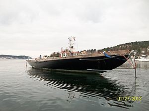 Britannia fortøyd i Son Havn 2012