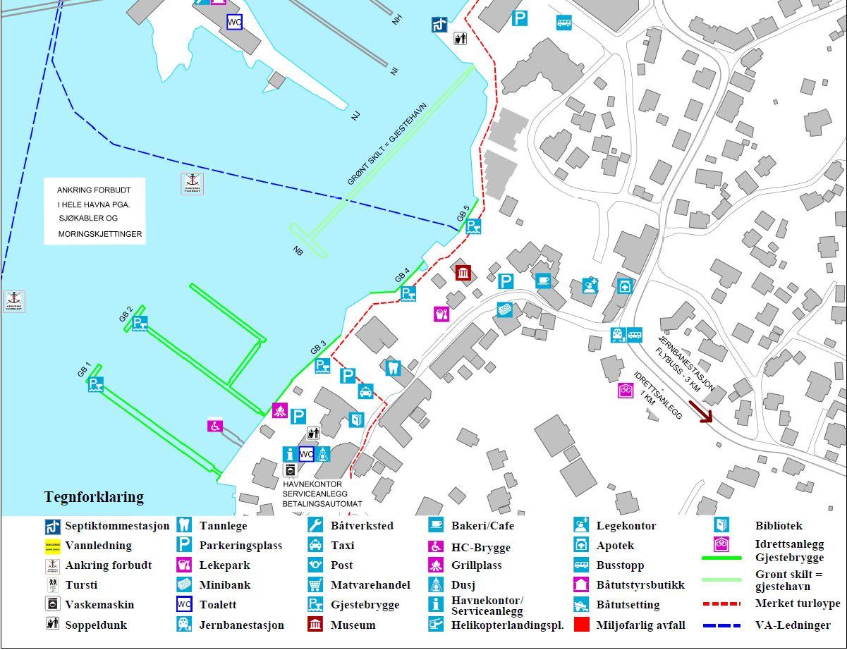 Oversiktskart_Son Gjestehavn_2015