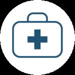 førstehjelpsskrin ikon